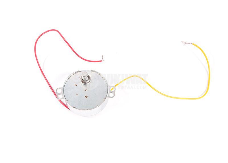 Synchronous elektorodvigatel, 220-240VAC, 50-60Hz, 4W, 3 / 3.6r / min - 1