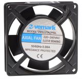 Axial Fan VM9225A2HSL, 92x92x25 mm, 220VAC, 0.08A with sleeve bearing