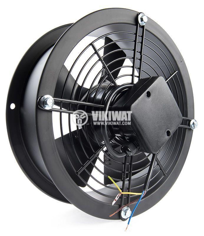 Axial Duct Fan, VS-2E-300, Ф300mm, 220VAC, 190W, 3250 m3/h - 2