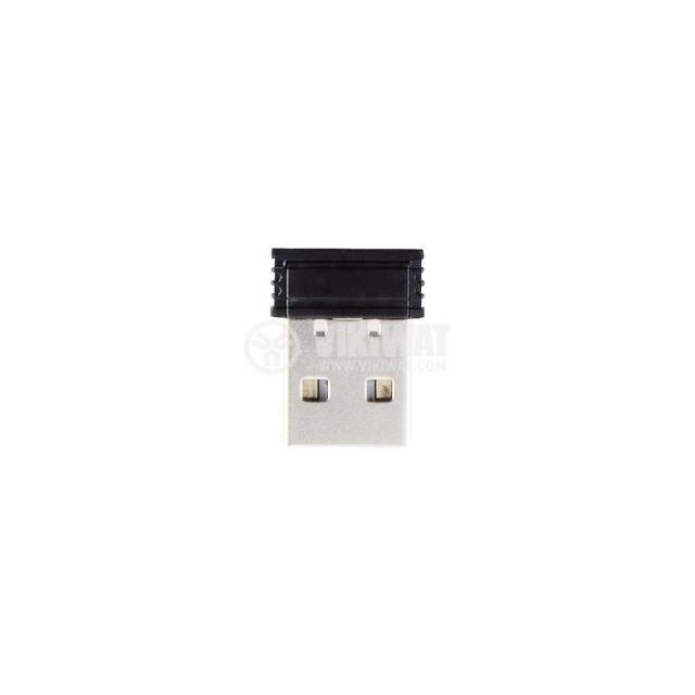 Мишка AM-8000 USB 3 бутона черна - 3