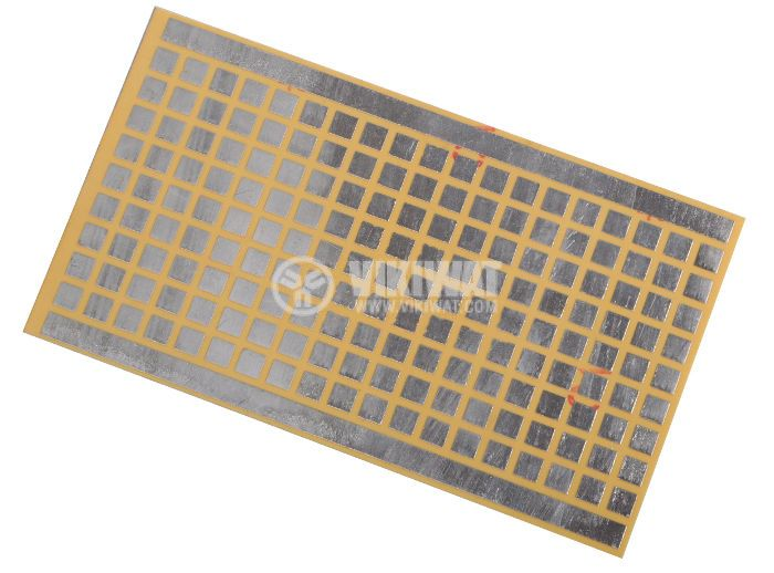 Universal PCB,single sided, without holes, 70x120mm, for SMD elements