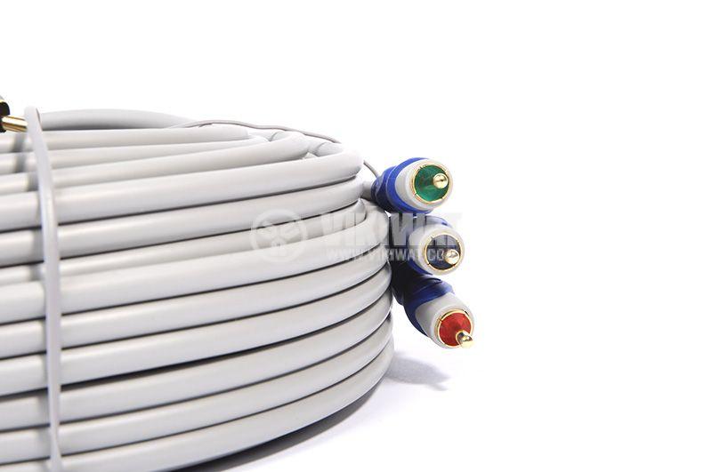 Cable, 3xRCA/m-3xRCA/m, 15m - 2