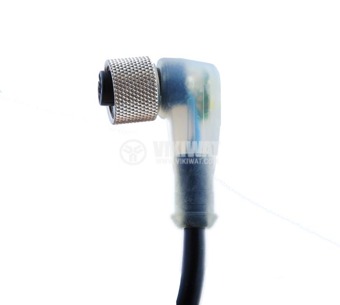 Cable for optical sensor XSZ P1340L5 L-shaped plug, 5m - 1