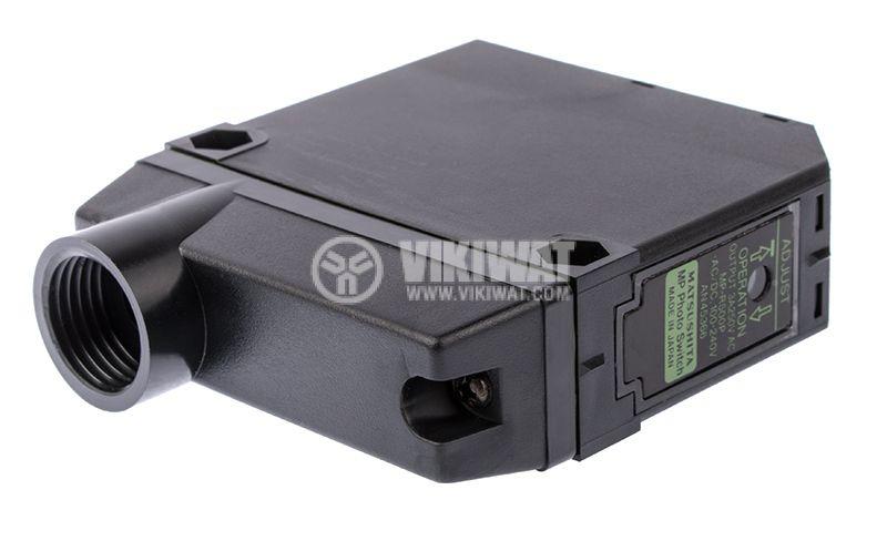 Photoelectric switch MP-R500P, NO+NC, retroreflective,100-240VAC/DC, range 3m - 4