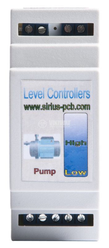 Fluid level regulator, 230V BOX, control of aggressive liquids - 2