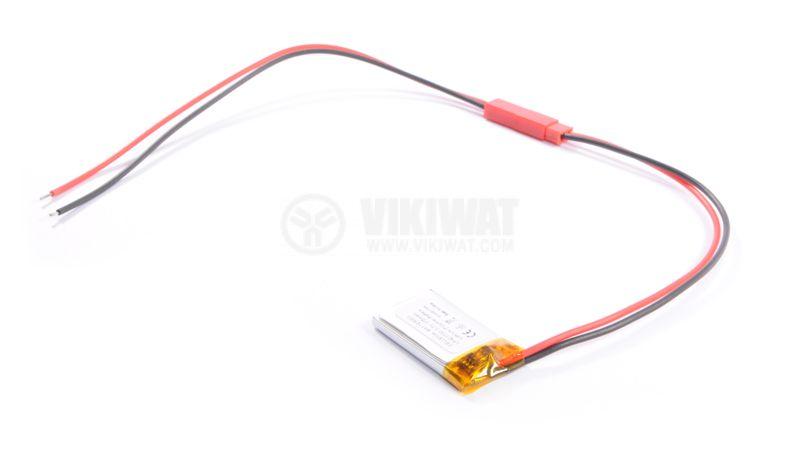 Rechargeable Battery LP421730, 3.7V, 175mAh, LiPo - 2