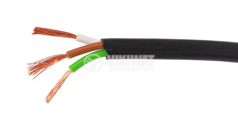 LIYY кабел 3x0.75mm2 черен