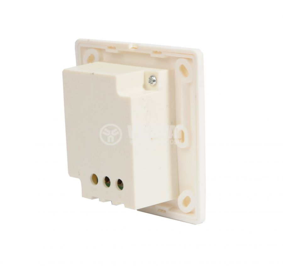 Volume control,  YV-3 LB6205, 5W, in wall mount, white - 2