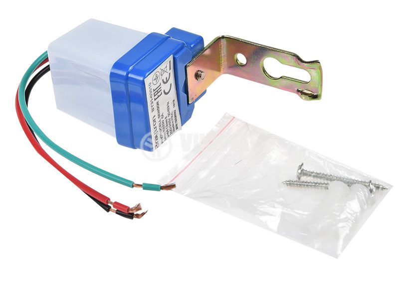 Automatic photoelectric switch, non-adjustable, 230VAC, 6A, BY31-03010 - 5