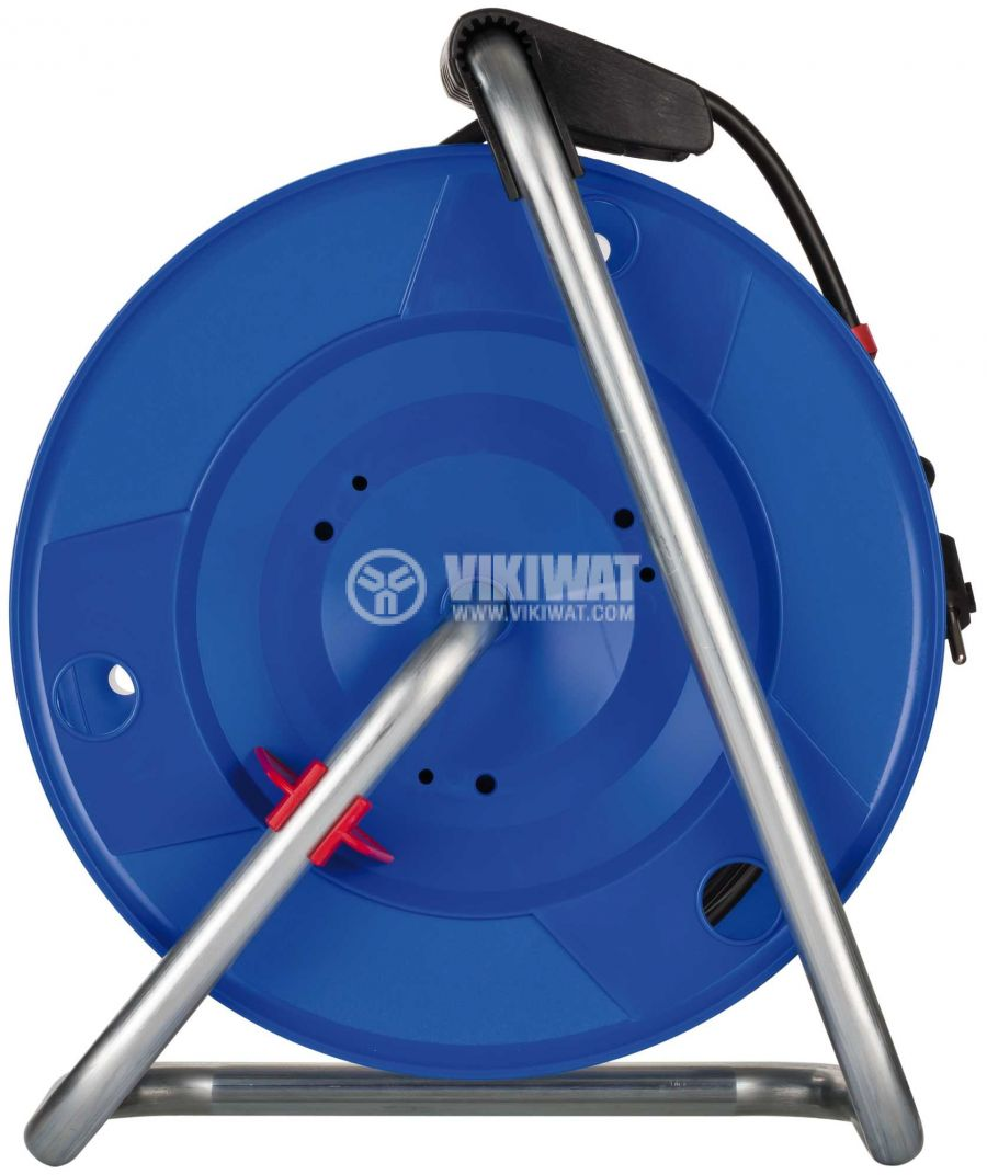 Extension reel, Brennenstuhl, Garant, 3x1.5mm2, 4 sockets, 50m, blue - 2