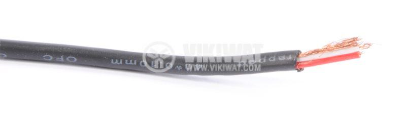 Аудио кабел 2x0.1mm2, меден многожичен