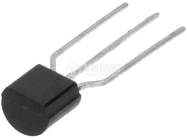 Transistor MPSA44, NPN, 500 V, 0.3 A, 0.625 W, 20 MHz, TO92