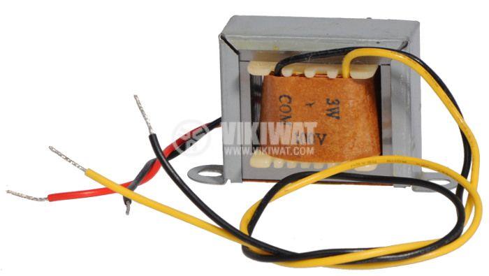 Аудио трансформатор 3 W, 100 V, 8 Ohm