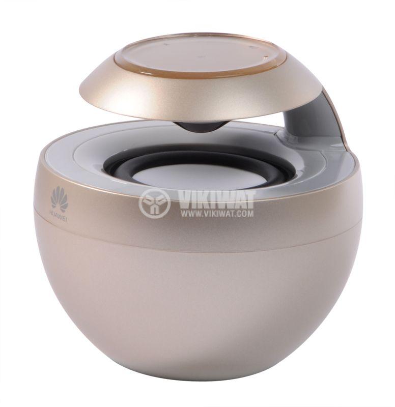 Bluetooth portable speaker, Huawei AM08, gold - 2