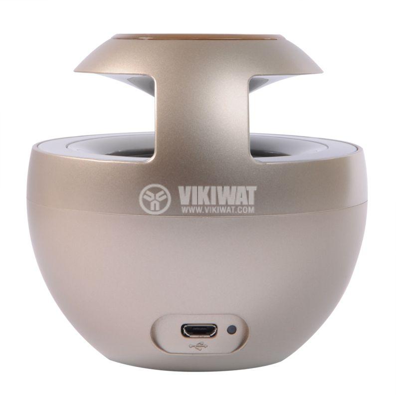 Bluetooth portable speaker, Huawei AM08, gold - 3