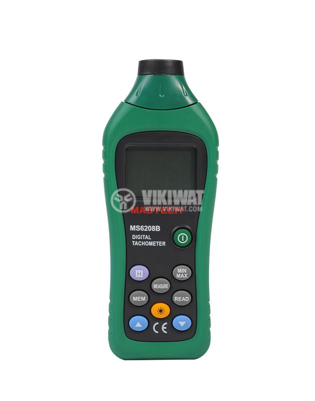 MS6208B Digital Tacho Meter, 19 999 RPM - 3