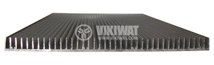 Aluminum cooling radiator profile 500mm 300x20x3mm - 1