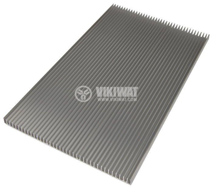 Aluminum cooling radiator profile 500mm 300x20x3mm - 2