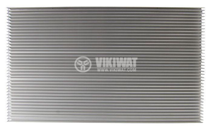 Aluminum cooling radiator profile 500mm 300x20x3mm - 3