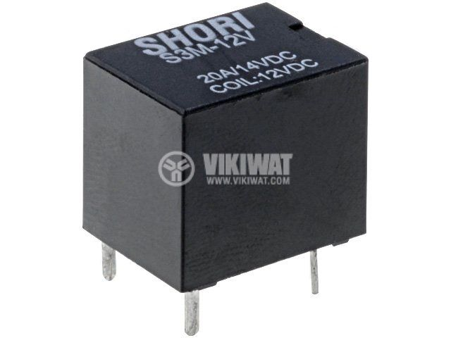 Relay еlectromagnetic S3M-12-1C coil 12V