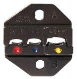 Комплект челюсти за кербовъчни клещи модел HS-03J, 0.5-1.5, 2.5, 4-6mm2