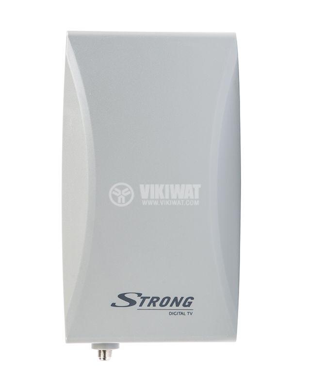 Ефирна DVB-T/T2 външна антена SRT ANT45, LTE филтър и усилвател - 1