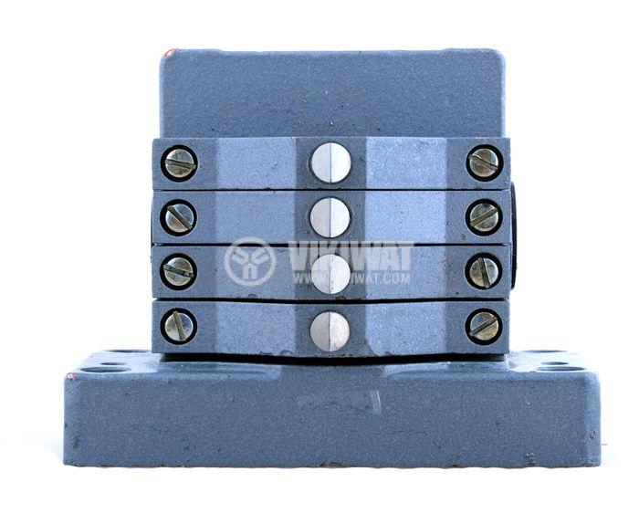 Multiple Position Limit Switch ПК-04, 4PDT-4NO+4NC, 10A/250VAC - 1
