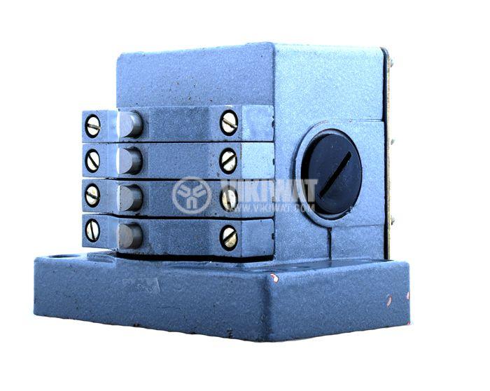 Multiple Position Limit Switch ПК-04, 4PDT-4NO+4NC, 10A/250VAC - 3