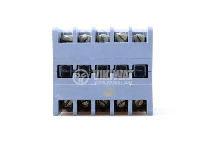Contactor, three-phase, coil 24VAC, 5PST - 4NO+1NC, 6A, КВ-0 - 2