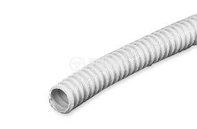 Plastic corrugated tube, Ф16/22mm ,white