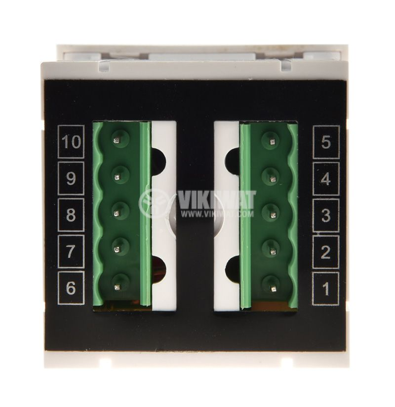 Digital ammeter, 0-5A AC, VFD-48 - 3