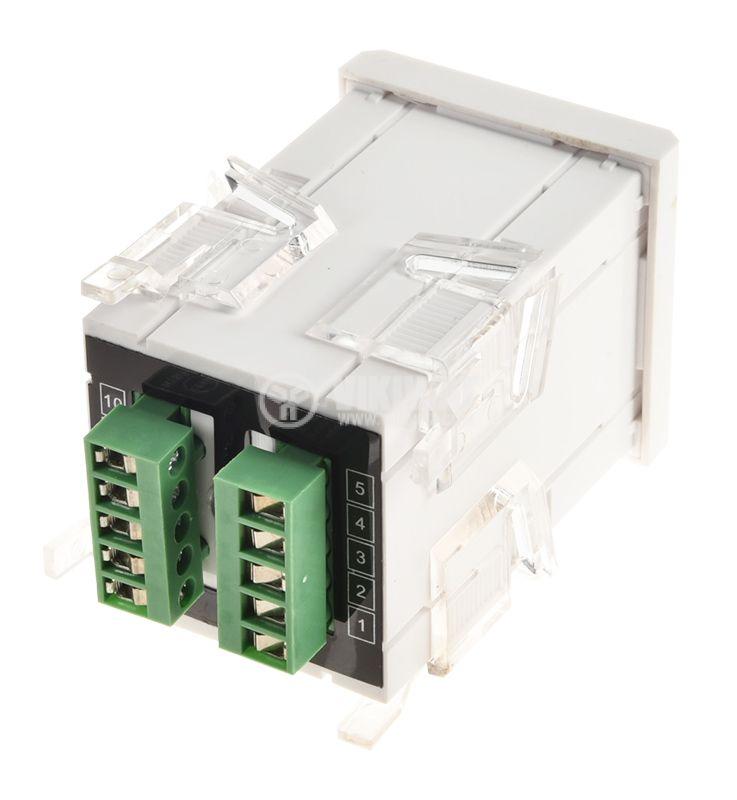 Digital ammeter, 0-5A AC, VFD-48 - 4