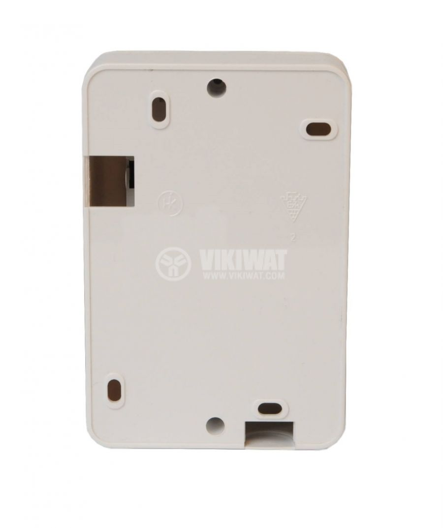 Electric switch for boilers, with timer, 16A, 250VAC, built in mounting, with light indication - 2