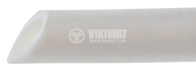Plastic rigid tube Ф8mm, white - 1