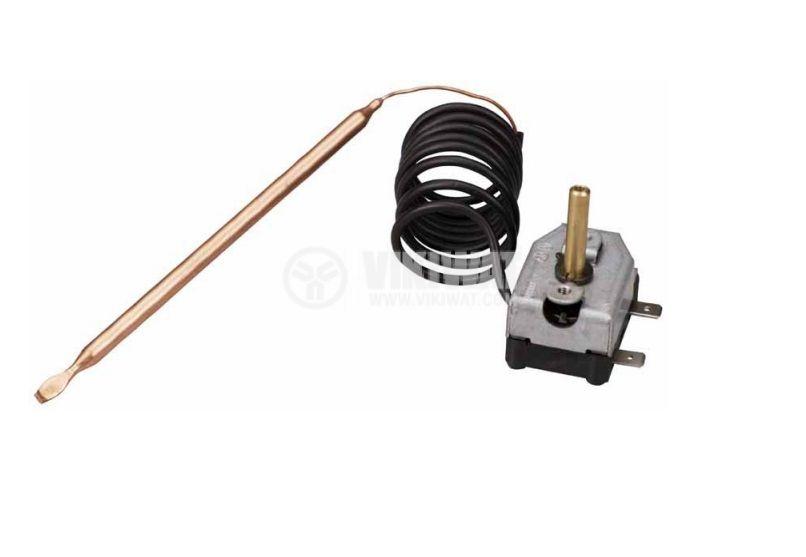 Capillary thermostat, RT8803, +7 °C +77 °C, NC, 16 A / 250 VAC - 2