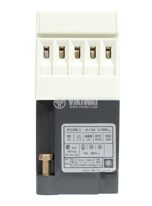 Контактор, четириполюсен, бобина 48VАC, 4PST - 3NO+1NC, 4A, CA2-FN 133E - 3