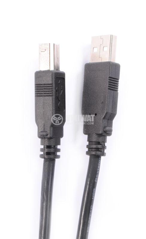 Кабел USBA M - USBB M 5m - 2