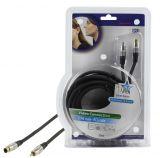 Cable, HQSS2525 / 5, SVHS 4pin M-RCA M, 5 m