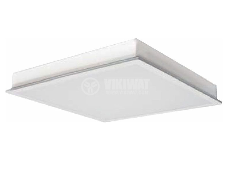 LED Panel Light  BN05-6610, 40W, 220-240V, IP20, 4200K, white, 600x600 - 2