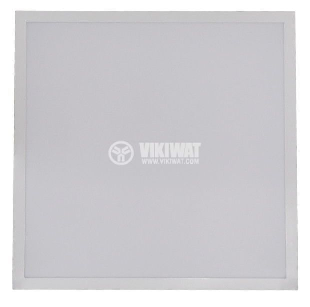 LED panel 40W, 220VAC, 3000lm, 4200K, neutral white, 600x600mm, recessed, BN05-6610 - 1