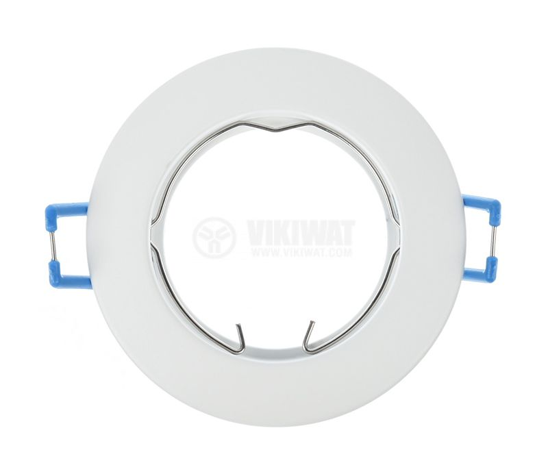 Recessed fitting, MITTO-R, round, for halogen and LED bulb, white mat, GU5.3 / GU10, BH03-02060 - 2