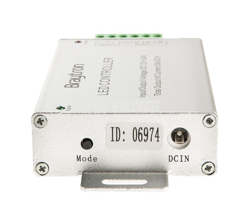 LED RGB controller BY30-01110, 180W, 3x5A, 12VDC - 4