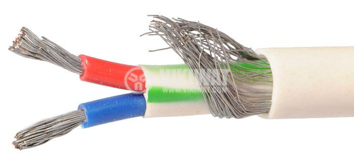 ТЧП-К екраниран кабел 2x1mm2