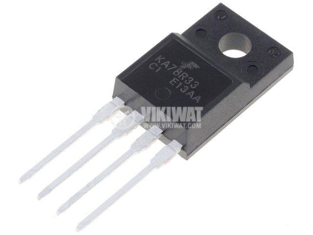 KA78R33C Low Dropout Voltage Regulator 3,3V/1A; TO220F-4