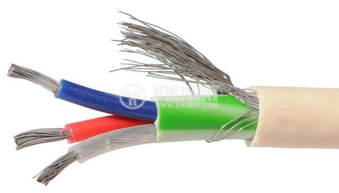 ТЧП-К екраниран кабел 3x0.75mm2