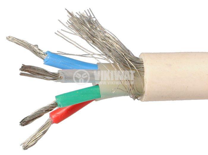 ТЧП-К екраниран кабел 4x0.5mm2