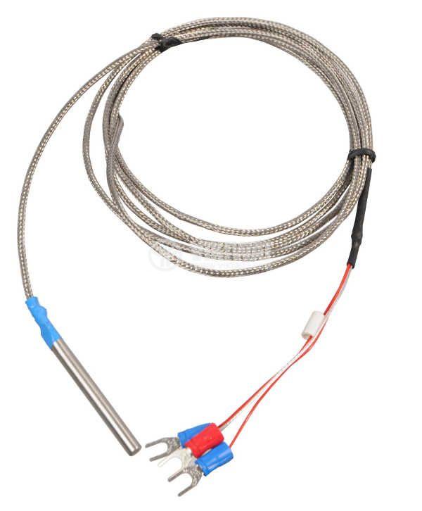 Thermistor Pt100 VM02, 0-200°C, Ф5mm, length 50mm