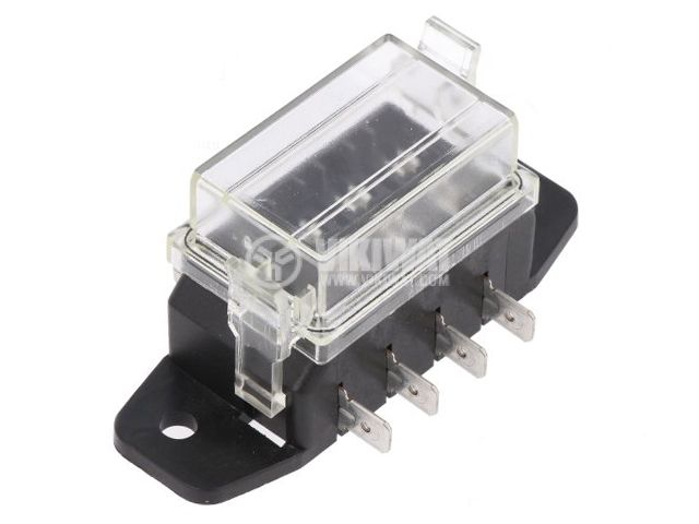 Auto fuses holder with cover - 1