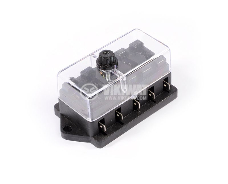 Car holder with lid 5 sockets - 1