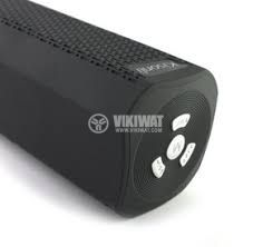 Universal stereo Bluetooth X6 speaker, USB port, micro SD port, Hands-free, FM radio, rechargeable battery - 2
